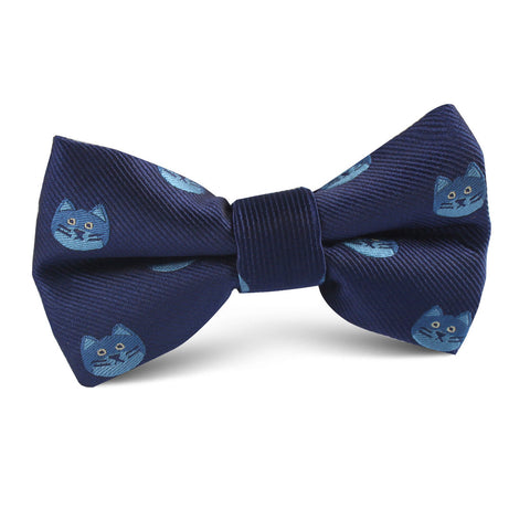 Cheshire Cat Face Kids Bow Tie
