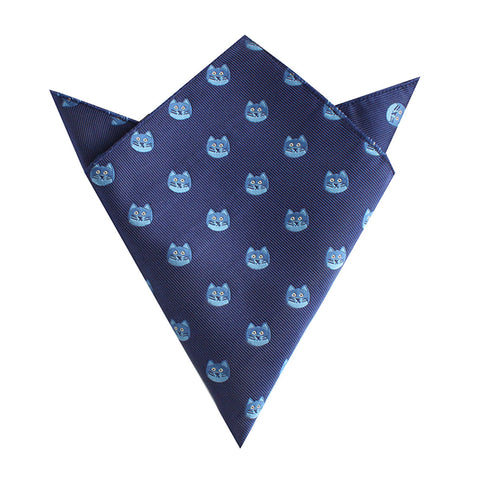 Cheshire Cat Face Pocket Square