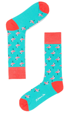 Chilean Flamingo Socks