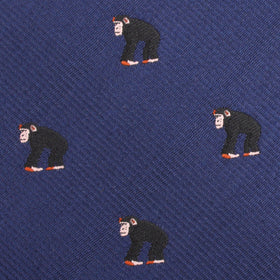 Chimpanzee Monkey Pocket Square