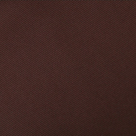 Chocolate Brown Twill Pocket Square