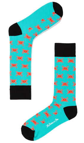 Christmas Islands Crab Socks