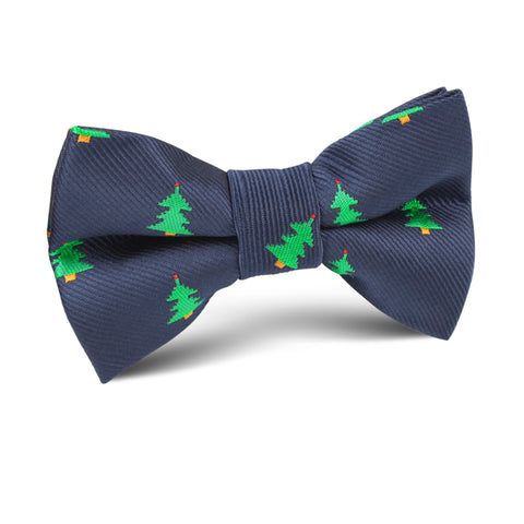 Christmas Tree Kids Bow Tie