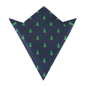 Christmas Tree Pocket Square