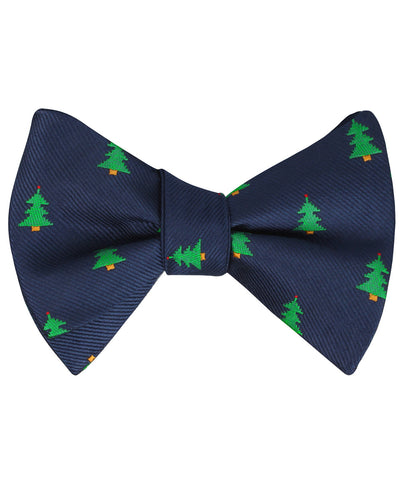 Christmas Tree Self Bow Tie