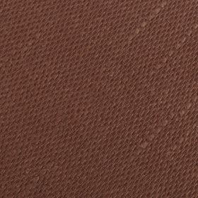 Cinnamon Brown Coarse Linen Pocket Square