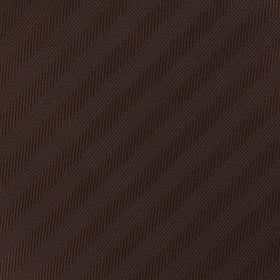 Cinnamon Brown Striped Pocket Square