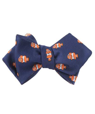 Clown Fish Diamond Self Bow Tie