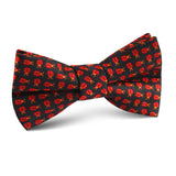 Coquelicot Red Beetle Kids Bow Tie