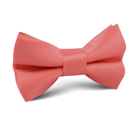Coral Reef Satin Kids Bow Tie