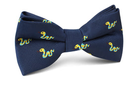 Corn Yellow Snake Bow Tie