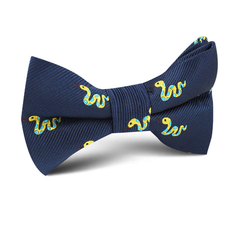 Corn Yellow Snake Kids Bow Tie