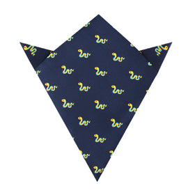 Corn Yellow Snake Pocket Square