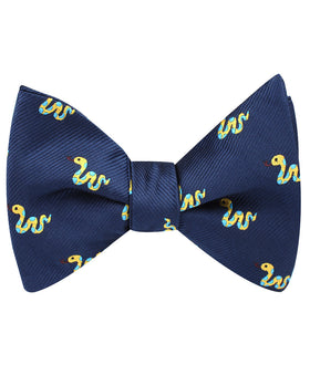 Corn Yellow Snake Self Bow Tie