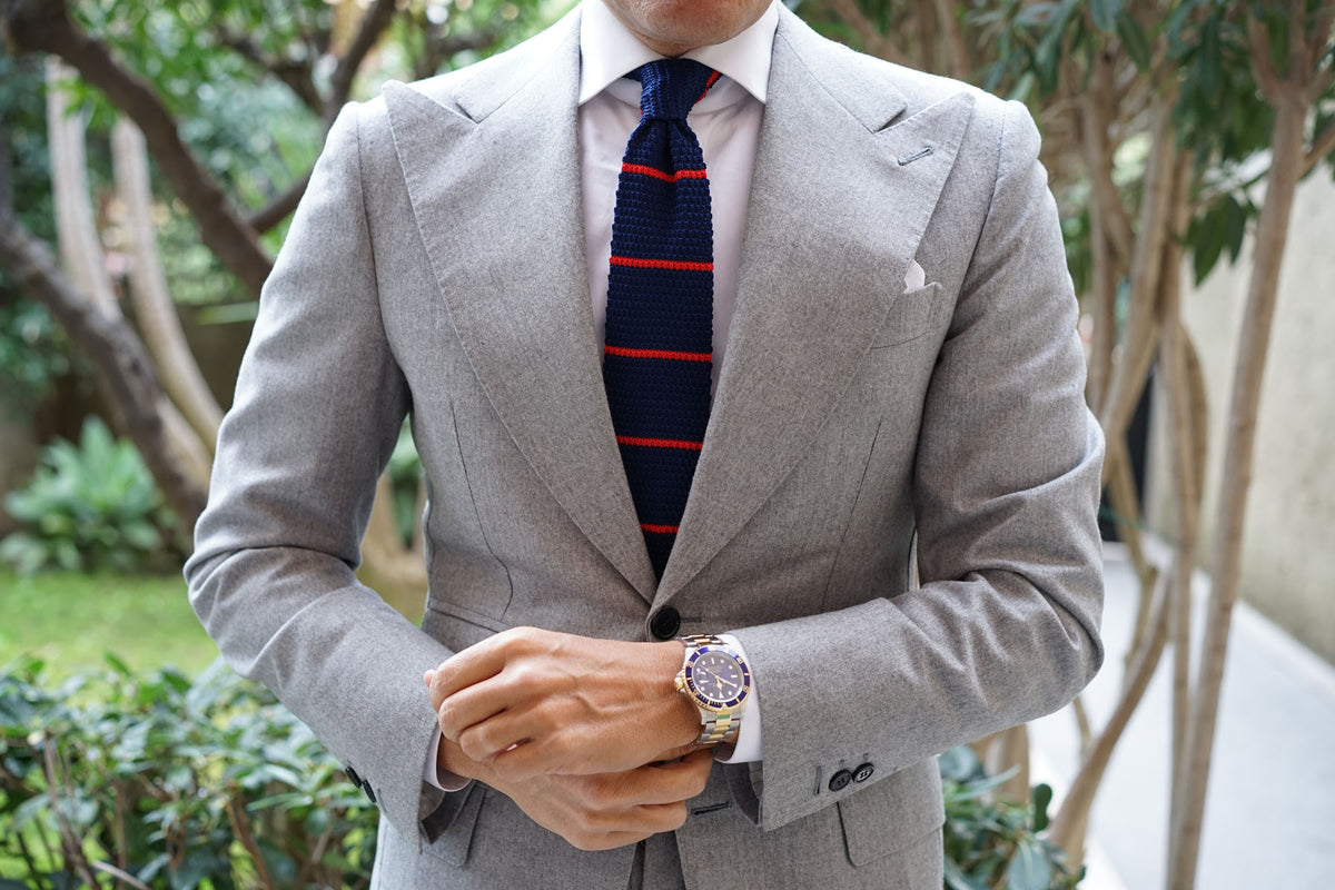 Cosimia Knitted Tie