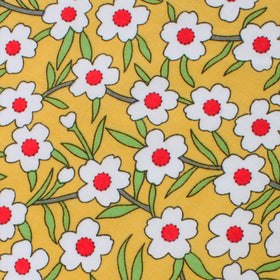 Cuban Marigold Floral Pocket Square