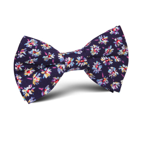 Culiacán Purple Floral Kids Bow Tie