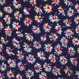 Culiacán Purple Floral Pocket Square Fabric