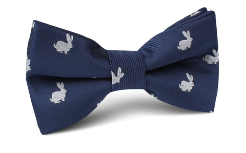 Curious Rabbit Bow Tie