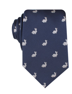 Curious Rabbit Necktie