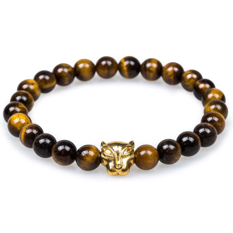 Cutlass Yellow Tiger's Eye Bracelet