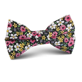 Daffodil Floral Kids Bow Tie