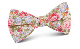 Daisy Floral Bow Tie