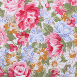 Daisy Floral Fabric Pocket Square