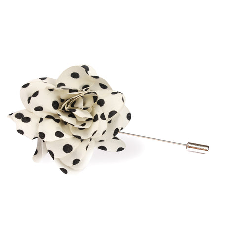 Dalmation Lapel Flower