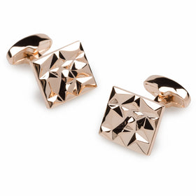 Danny Archer Rose Gold Cufflinks