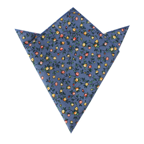 Dantesco Museo Floral Pocket Square