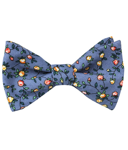 Dantesco Museo Floral Self Bow Tie