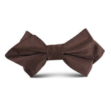 Dark Brown Kids Diamond Bow Tie
