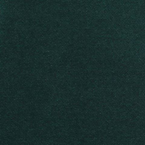 Dark Green Satin Pocket Square