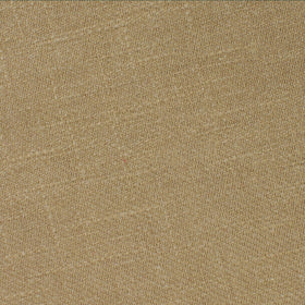 Dark Khaki Tan Linen Pocket Square