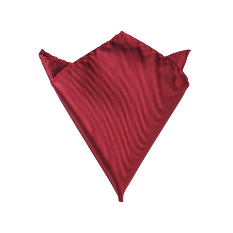 Dark Maroon Pocket Square
