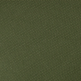 Dark Olive Green Weave Pocket Square