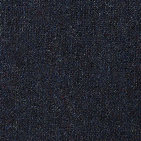 Deep Blue Cotswold Wool Diamond Self Bow Tie