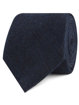 Deep Blue Cotswold Wool Tie