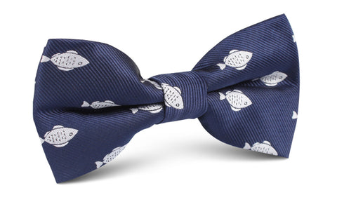 Deep Sea Fish Bow Tie