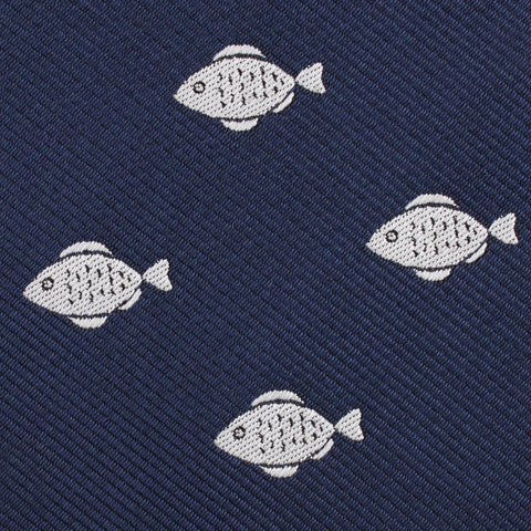 Deep Sea Fish Diamond Bow Tie