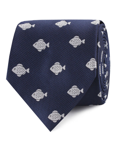 Deep Sea Fish Tie