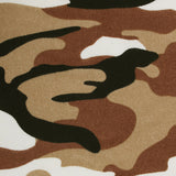 Desert Sand Camouflage Fabric Self Diamond Bowtie