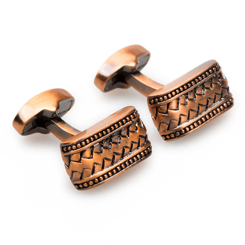 DiCaprio Antique Copper Cufflinks