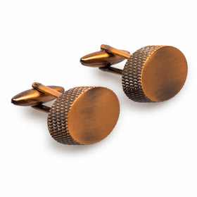 Dominic West Antique Copper Cufflinks
