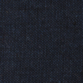Don Quixote Navy Textured Linen Diamond Bow Tie
