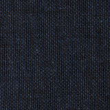 Don Quixote Navy Textured Linen Fabric Pocket Square