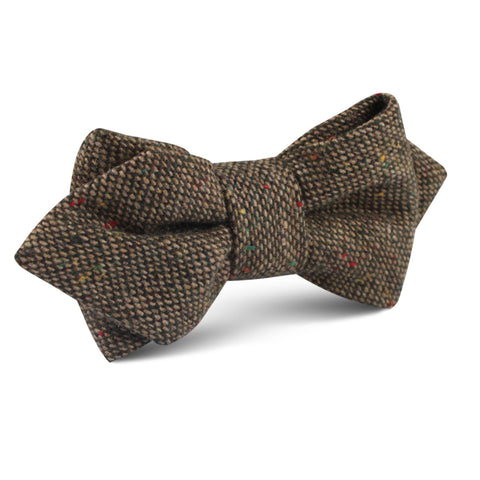 Donegal Green Diamond Bow Tie