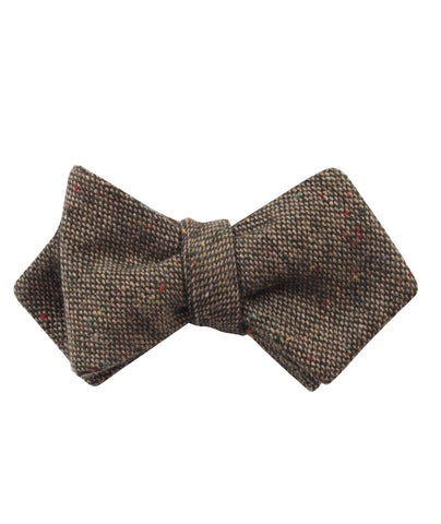 Donegal Green Diamond Self Bow Tie