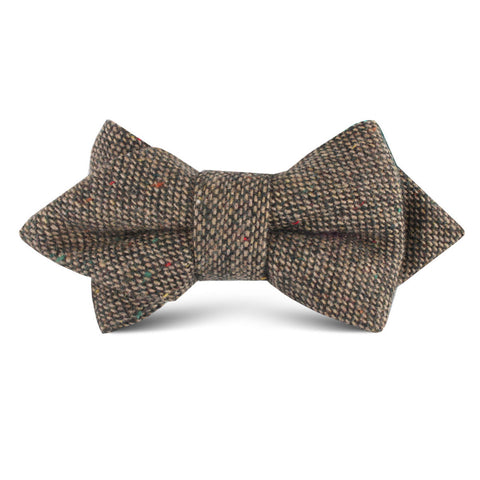 Donegal Green Kids Diamond Bow Tie